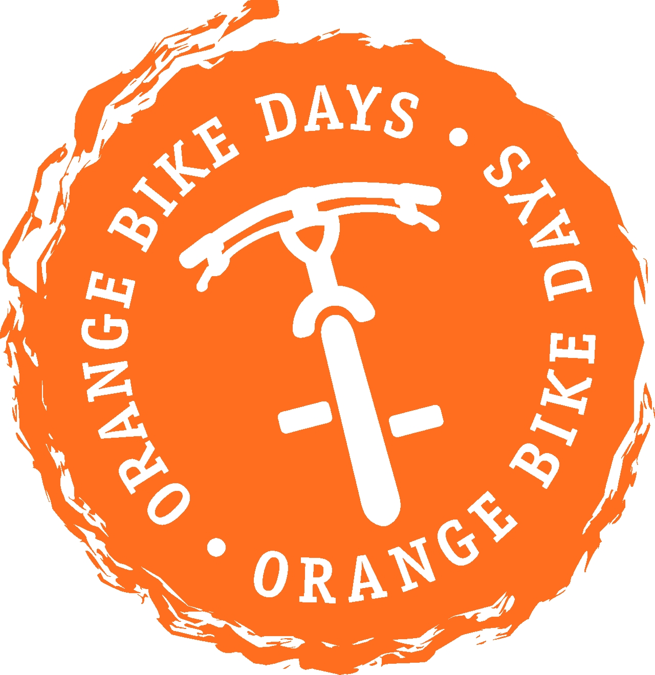 logo orange bike days